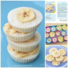 Frozen Banana Yogurt Bites - really easy recipe for kids for a yummy healthy sna.,Healthy, Many of these healthy H E A L T H Y . Frozen Banana Yogurt Bites - really easy recipe for kids for a yummy healthy snack with just 3 ingredients - Eat. Cheap Healthy Snacks, Nutritious Snacks, Diabetic Snacks, Healthy Snacks For Diabetics, Easy Snacks, Yummy Snacks, Healthy Food, Diabetic Meals For Kids, Healthy Eating For Children