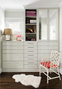 Closets to Covet: 8 Inspired Layouts - An Intimate Oasis on HomePortfolio
