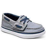 Cruz Jr. Boat Shoe, Grey / Navy