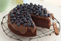 Super-easy chocolate cake