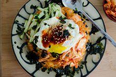 Kimchi Bibimbap | Heart Mind & Seoul tons of Korean recipes!!!!!