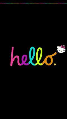 Kitty dark wallpaper hello sam.leonardjoel.com.au: Hello