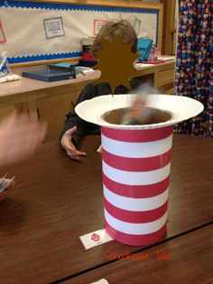 Schoolhouse Talk: Happy Birthday Dr. Seuss! Round one of Seuss-themed activities from our speech room this week.