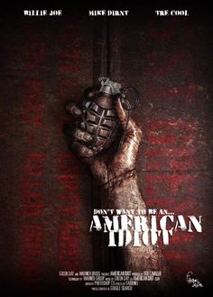 If American Idiot was a movie...and WHY ISNT IT ONE YET?!