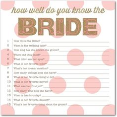Krafty Contest - Signature White Bridal Shower Games - Baumbirdy - Watermelon - Pink : Front