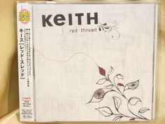 CD/Japan- KEITH Red Threat +2 bonus trx w/OBI RARE ORIGINAL 2006 BRC-156