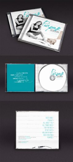 Deborah Olieman | Purpose #packagingdesign #albumartwork #music #graphicdesign