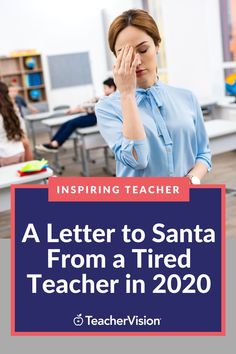 As the year winds down, what are teachers asking Santa or the sages for in 2021? Advisory Board member, Mikaela, shares her cockeyed optimism in her own letter to Santa, where she asks for some personal effects to make her a more effective teacher, but more importantly, implores him for peace, prosperity, and health and well-being for all in 2021. #inspiringteacher #teacherlife Massage Packages, Morning Announcements, Teacher Tired, Board Member, December Holidays, Keep Swimming, Santa Letter, Dear Santa, Student Learning