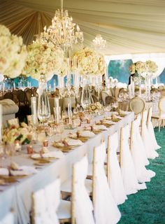 La Tavola Fine Linen Rental: Velvet Oatmeal with Velvet Oatmeal Napkins and Alexandra Light Ivory Chair Backs | Photography: Cameron Ingalls, Planning: XOXO Bride Events, Florals: Knot Just Flowers, Lighting & Draping: Bella Vista Designs, Tabletop Rentals: Casa de Perrin, Tent and Rentals: Town & Country Event Rentals, Venue: Ojai Valley Inn