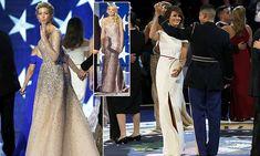 Melania, Ivanka and Tiffany Trump dazzle in inaugural ball gowns