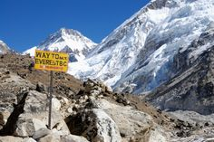 Climb Everest Base Camp. http://triphac.kr/TravelGoals