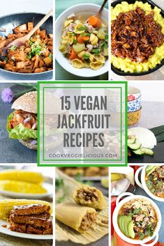 If there were a league table of vegan ingredients then jackfruit would be sure to feature near the top. Many vegans love jackfruit for its ability to mock meat in recipes like pulled jackfruit, tacos and burgers. Here are 15 delicious vegan jackfruit recipes to try.