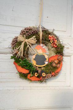 Türkranz Herbst  Herbstdekoration Landhaus Deko von Missbellflower auf DaWanda.com