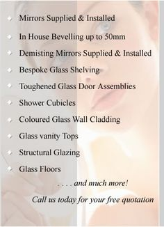 ::::Belgravia Mirror & Glass Co. Ltd - The Specialists::::