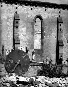 Paul Strand: Bombed Church, Hoste, Moselle, France, 1950