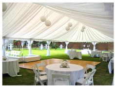 Love the tent idea