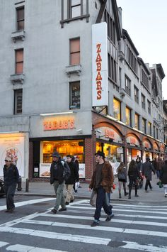 Zabar's.  New York City.  Amazing store.
