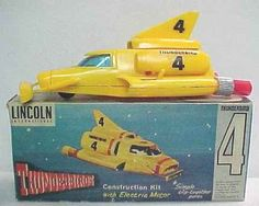 Flying Sub/Car from Thunderbirds, puppet TV show.