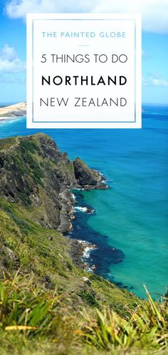 From a sub-tropical climate to charming history, tall ships to towering trees.here are 5 things to do in Northland, New Zealand! Tahiti Islands, Bay Of Islands, Beautiful Places To Visit, Cool Places To Visit, Amazing Destinations, Travel Destinations, Channel Islands National Park, Painted Globe, Road Trip Packing