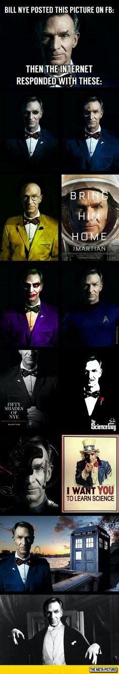 Bill Nye's Many Identities