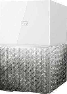 WD - My Cloud Home Duo 12TB 2-Bay External Network Storage (NAS) - White