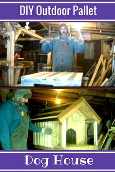Diy outdoor dog house dreams Ideas for 2019 Pallet Dog House, Dog House Plans, Outdoor Dog Bed, Outdoor Pallet, Diy Christmas Door Decorations, Outdoor Movie Screen, Diy Outdoor Weddings, Cool Dog Houses, Baby Room Diy