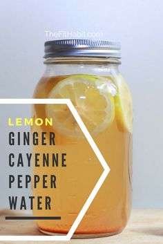 LEMON GINGER CAYENNE PEPPER DETOX