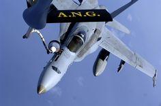 McDonnell Douglas F/A-18 Hornet.