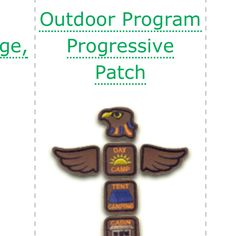 Camping with your girls? Check out GSLE's camping progression totem pole badges. The girls work through each camping activity to earn each part of the pole:  http://www.gsle.org/camping/campingpatches.asp . Check out all the other great camping-related patches offered by GSLE too.