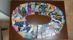 3a. série Batman da Editora Abril. Primeira revista mensal que acompanhei. De Janeiro/90 (nº 0) até Junho/92 (nº 29)