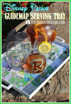 Have some extra Disney Parks Guidemaps from your visit to Walt Disney World? Serve up some fun memories (and some drinks) with this Easy Disney…