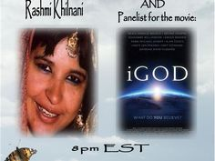 iGod - The Movie with World Renowned Author and Co-Producer Rashmi Khilnani 10/06 by Transitions To Transformation Radio | Self Help Podcasts