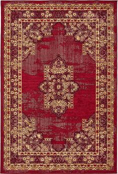 Red Nomad Area Rug