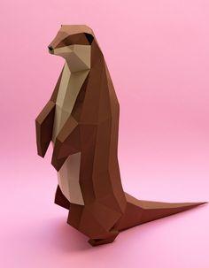 Belas esculturas de animais em papel do estúdio Guardabosques - O estúdio argentino Guardabosques domina a arte de criar pequenas esculturas em papel, representando diversos animais. Confira!