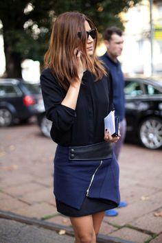 Trend alert: The invasion of wrap skirts. Christine Centenera.