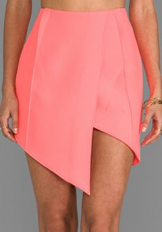 FINDERS KEEPERS Jump The Fall Skirt in Sherbet - Finders Keepers