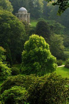 grand folly Stourhead, Wiltshire - England
