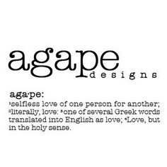 Our Entire Wedding Sermon Was On Agape Love