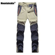 desolateness Mens Hiking Pants Lightweight Travel Military Army Cargo Trousers