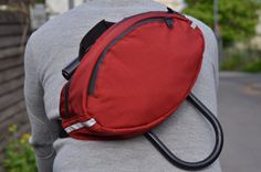 cherry red rip stop #fannypack #hippouch #Ulockholster by Crosstownbags https://www.etsy.com/listing/277659950/cherry-red-rip-stop-fanny-pack-hip-pouch?ref=shop_home_active_22