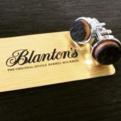 Our new cuff links are in! Link in bio! by blantons_bourbon