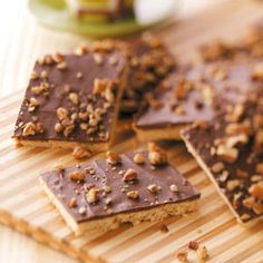Gluten-Free Toffee Bars Recipe! http://www.arrowheadmills.com/