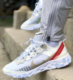 premium selection f8bde fb1e6 Nike React Element Chaussures De Luxe, Chaussures Hommes, Chaussure Mode,  Mode Homme,