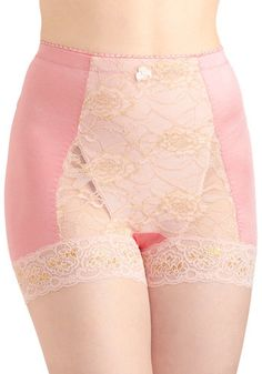 Bold Hollywood Undies in Gilded Pink: Like a silver-screen siren  you lounge in your boudoir and flip through your favorite film magazines. Your silky sheets and dazzling vintage decor cant compare …    #1960s #60s #Retro #Vintage #BoldHollywoodUndiesInGildedPink, #ModCloth, #Pink