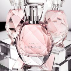 We love that Avon Femme brings out our girly side with this sparkling bottle #Femme