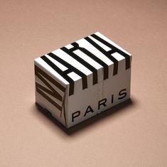 Imprimerie du Marais by Made Thought Bottle Packaging, Brand Packaging, Design Packaging, Packaging Ideas, Innovative Packaging, Skincare Packaging, Pretty Packaging, Grafik Design, Corporate Design