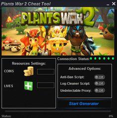 Plants War 2 Cheat Tool