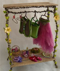 Fairy+Wardrobe+with+Clothes+and+Accessories+/+by+Nikkinikkinikki72
