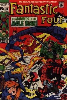 Fantastic Four #89 - The Madness of the Mole Man