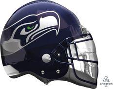 """Seattle Seahawks 21"""" Helmet Balloon"""